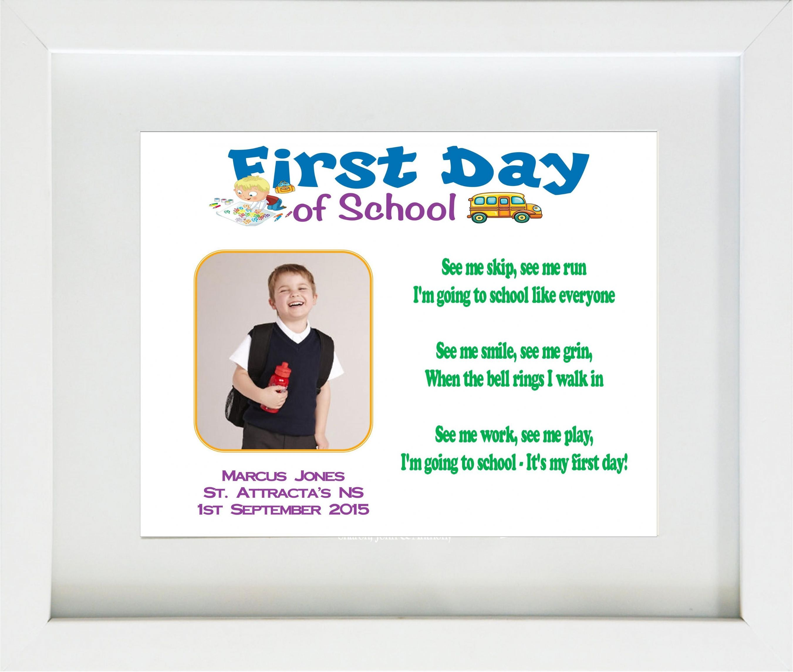 first day at new school First day of school: 10 tips on helping your child as they start primary school  on the first day and as they settle in to their new routine.