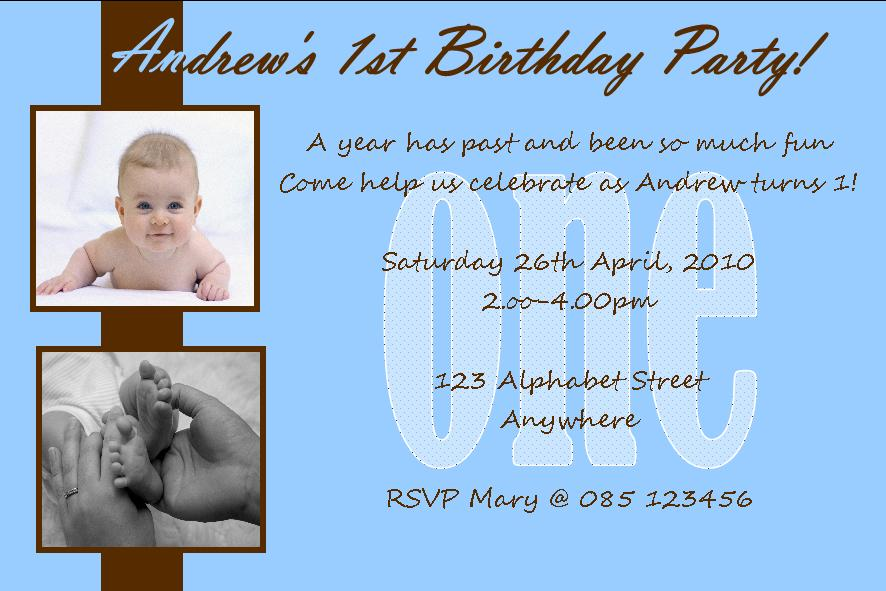 1st birthday invitation cardsfor boy orderecigsjuicefo personalised birthday photo invitation boy design 2 birthday invitations filmwisefo