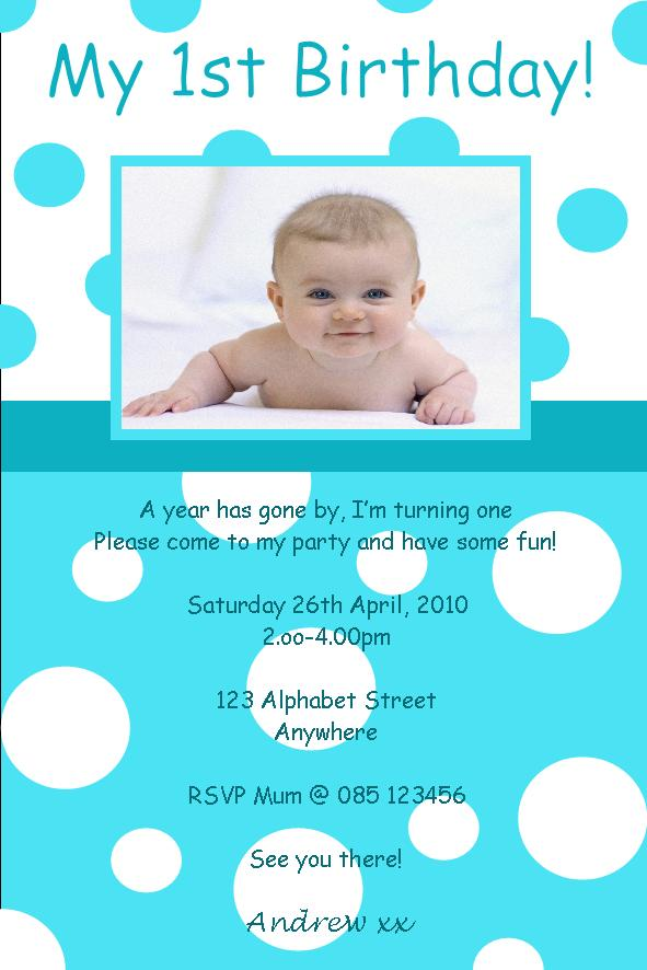 1St Birthday Invitation Cardsfor Boy – orderecigsjuice.info