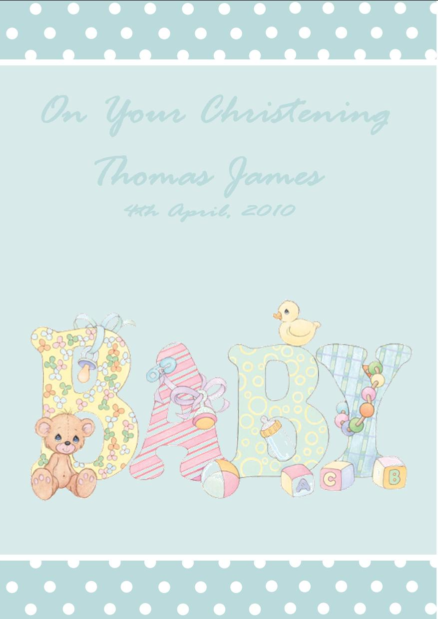 New Greeting Card Verses For New Baby