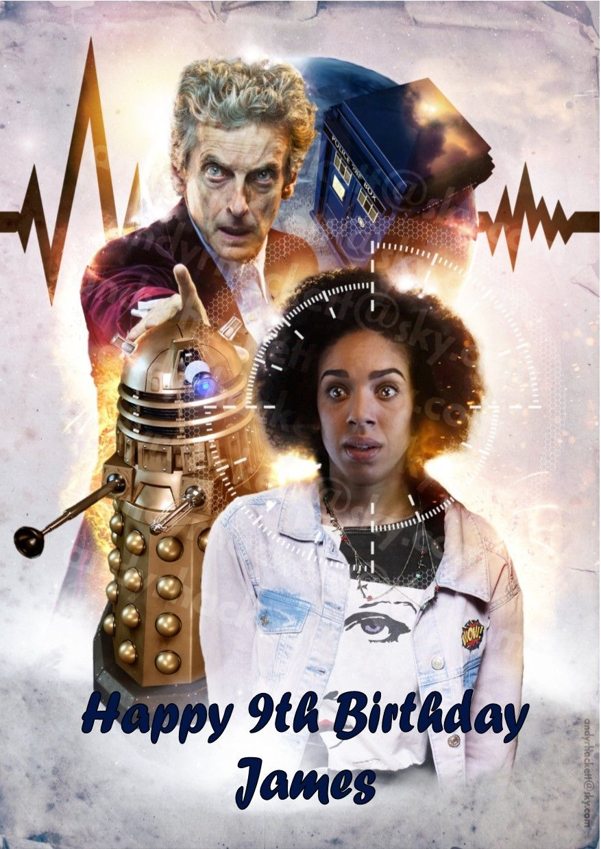 Personalised Doctor Who Birthday Card – Birthday Cards Personalised