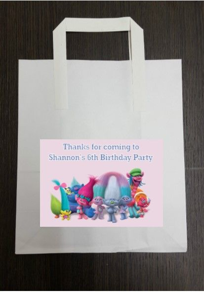 Personalised Stickers For Party Bags