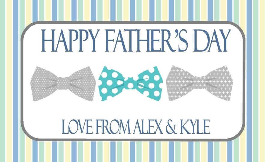 fathers day chocolate bar wrapper design 7