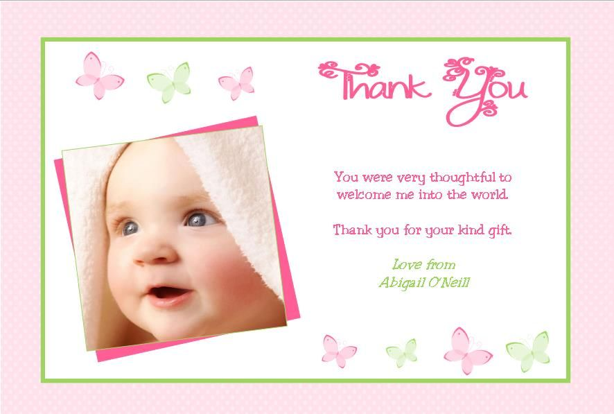 Personalised New Home Announcement Cards